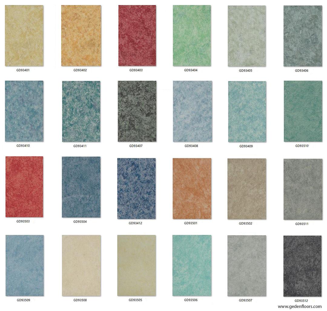 Heterogeneous Vinyl Flooring Rolls Supplier Geden Floors