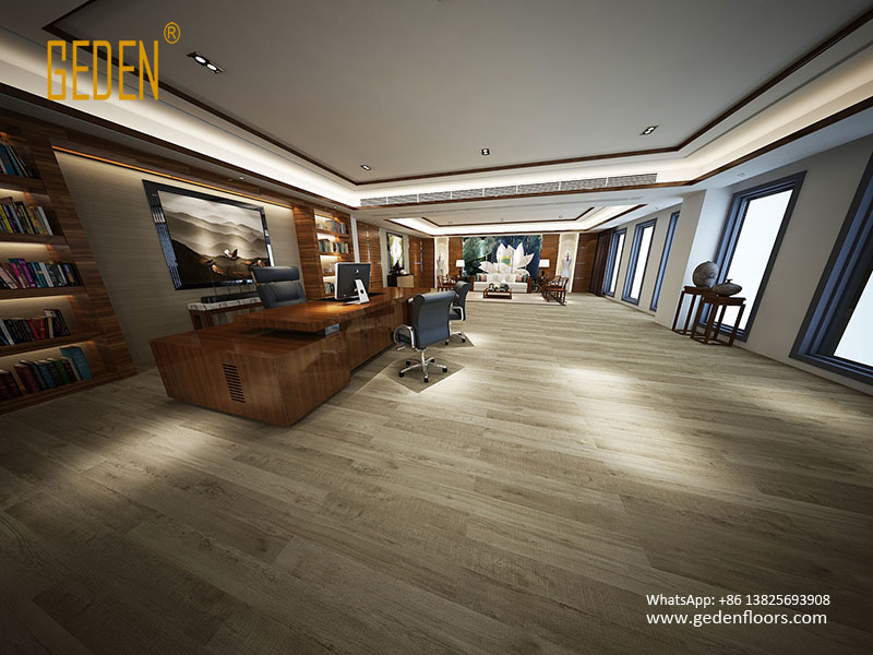 interlocking floating vinyl wood flooring 6609