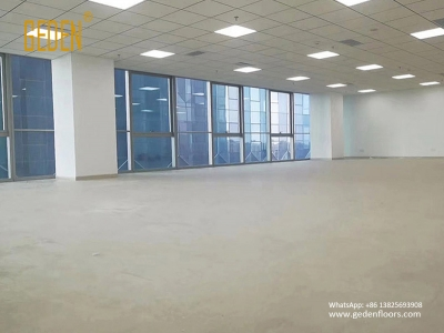 commercial SPC-click vinyl tiles for bank office 8801
