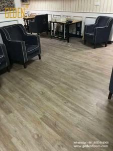 commercial SPC-pvc click flooring for club 6605