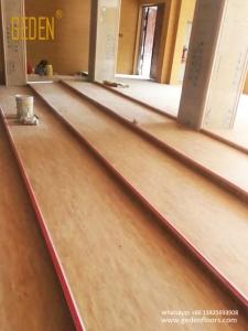 commercial SPC-pvc interlocking floor tile