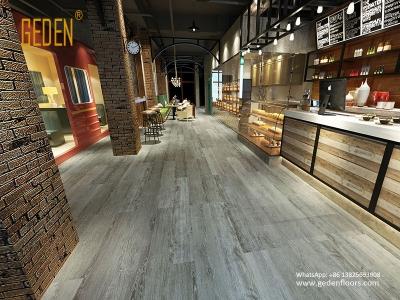 commercial click vinyl plank flooring GD6610