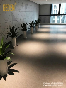 heterogeneous pvc flooring rolls for aisle