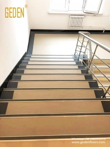 homogeneous pvc rolls for stairs