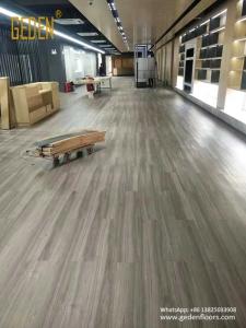 pvc vinyl floor tile for shopping mall