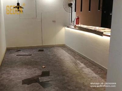 residential LVT-luxury vinyl tile looks like stone 36003