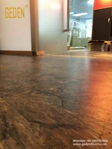 residential LVT-resilient vinyl tile flooring