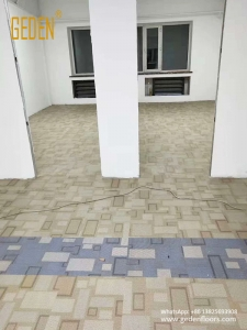 residential LVT-waterproof vinyl tile flooring