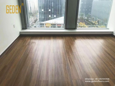 residential LVT-wood look vinyl flooring plank