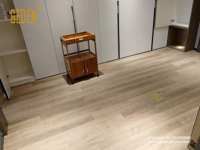 residential SPC-floating vinyl wood flooring