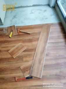 residential SPC-install click lock vinyl flooring