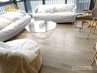 residential SPC-interlocking vinyl wood