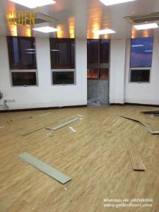 residential SPC-luxury vinyl click flooring-1