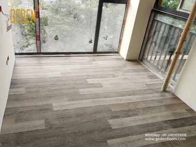 residential SPC-waterproof vinyl click flooring