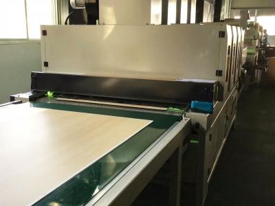 vinyl flooring production line