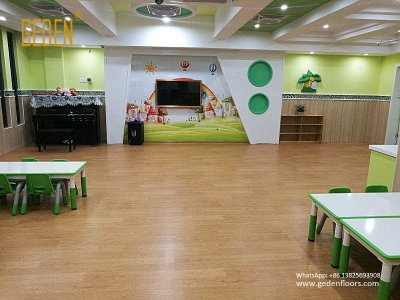 wool look pvc flooring rolls for kindergarten